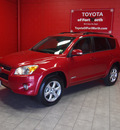 toyota rav4 2009 red suv limited gasoline 4 cylinders front wheel drive automatic 76116