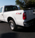 ford f 250 super duty 2012 white xl flex fuel 8 cylinders 4 wheel drive automatic with overdrive 32401