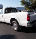 ford f 250 super duty 2012 white xl flex fuel 8 cylinders 2 wheel drive automatic with overdrive 32401