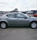 dodge avenger 2012 gray sedan se gasoline 4 cylinders front wheel drive automatic 13502