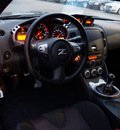 nissan 370z 2012 silver coupe nismo gasoline 6 cylinders rear wheel drive manual 27616