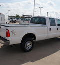 ford f 250 super duty 2013 white xl flex fuel 8 cylinders 4 wheel drive automatic 76108