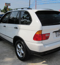 bmw x5 2001 white suv 3 0i gasoline 6 cylinders all whee drive automatic 77379