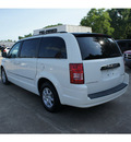 chrysler town and country 2010 white van touring gasoline 6 cylinders front wheel drive shiftable automatic 77515
