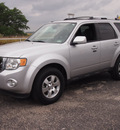 ford escape 2010 silver suv limited flex fuel 6 cylinders all whee drive automatic 78016
