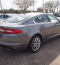 jaguar xf 2013 gray sedan 2 0t gasoline 4 cylinders rear wheel drive automatic 77090