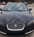 jaguar xf 2013 black sedan 3 0 gasoline 6 cylinders rear wheel drive automatic 77090