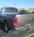 dodge ram 1500 2002 gray pickup truck st gasoline 6 cylinders rear wheel drive 5 speed manual 62863