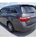 honda odyssey 2013 brown van ex l gasoline 6 cylinders front wheel drive automatic 28557