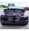 honda cr z 2013 purple hatchback hybrid 4 cylinders front wheel drive automatic 28557