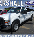 ford f 250 super duty 2010 white xl gasoline 8 cylinders 2 wheel drive automatic 75672