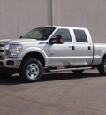 ford f 250 super duty 2013 silver xlt biodiesel 8 cylinders 4 wheel drive automatic 79407