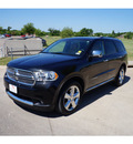 dodge durango 2012 black suv citadel gasoline 8 cylinders all whee drive automatic 76049