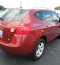 nissan rogue 2008 cherry red suv sl gasoline 4 cylinders front wheel drive automatic 34474