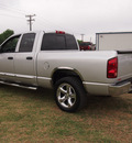 dodge ram 1500 2008 silver pickup truck laramie gasoline 8 cylinders rear wheel drive automatic 78064