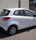 mazda mazda2 2012 white hatchback touring gasoline 4 cylinders front wheel drive automatic 79925