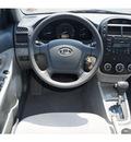 kia spectra 2009 silver sedan ex gasoline 4 cylinders front wheel drive automatic 76234