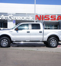 ford f 150 2011 silver xlt gasoline 6 cylinders 4 wheel drive automatic 79119