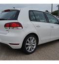 volkswagen golf 2011 white hatchback tdi diesel 4 cylinders front wheel drive automatic 76502