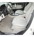 gmc acadia 2008 white suv slt 1 gasoline 6 cylinders front wheel drive shiftable automatic 77566