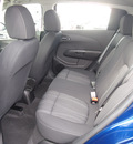 chevrolet sonic 2013 blue hatchback lt gasoline 4 cylinders front wheel drive 6 spd auto mylink touch lpo,cargo net 77090