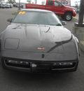 chevrolet corvette 1990 brown hatchback 8 cylinders manual 99212