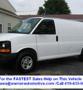 chevrolet express cargo 2008 white van 1500 gasoline 6 cylinders rear wheel drive automatic 45840