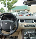 land rover range rover sport 2011 white suv hse gasoline 8 cylinders 4 wheel drive shiftable automatic 27511