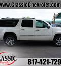 chevrolet suburban 2013 white suv ltz 1500 flex fuel 8 cylinders 4 wheel drive automatic 76051