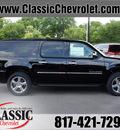 chevrolet suburban 2013 black suv ltz 1500 flex fuel 8 cylinders 4 wheel drive automatic 76051