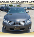 toyota camry 2011 gray sedan xle gasoline 4 cylinders front wheel drive automatic 77546