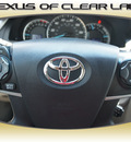 toyota camry 2012 silver sedan xle gasoline 4 cylinders front wheel drive automatic 77546