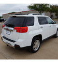 gmc terrain 2011 white suv slt gasoline 4 cylinders front wheel drive automatic 76049