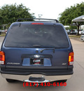 ford explorer 2000 blue suv xlt gasoline v8 all whee drive automatic 76051