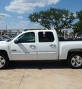chevrolet silverado 1500 2011 white texas edition flex fuel 8 cylinders 2 wheel drive automatic 78232