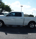 dodge ram 1500 2009 white pickup truck st gasoline 8 cylinders 2 wheel drive 5 speed automatic 78214