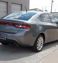 dodge dart 2013 gray sedan limited gasoline 4 cylinders front wheel drive shiftable automatic 77099