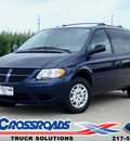 dodge grand caravan 2005 dk  blue van se gasoline 6 cylinders front wheel drive automatic 62708