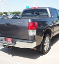 toyota tundra 2011 gray limited gasoline 8 cylinders 2 wheel drive automatic with overdrive 77802