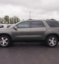 gmc acadia 2011 dk  gray suv slt 1 gasoline 6 cylinders all whee drive automatic 79110