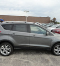ford escape 2014 gray suv titanium 4x4 gasoline 4 cylinders 4 wheel drive automatic with overdrive 60546