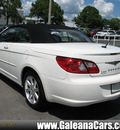 chrysler sebring 2008 white touring flex fuel 6 cylinders front wheel drive automatic 33912