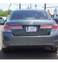 honda accord 2011 dk  gray sedan lx gasoline 4 cylinders front wheel drive automatic 78520