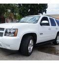 chevrolet tahoe 2012 white suv ls flex fuel 8 cylinders 2 wheel drive automatic 78520