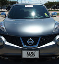 nissan juke 2012 silver sl gasoline 4 cylinders front wheel drive automatic 76018