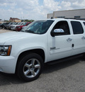 chevrolet suburban 2014 white suv lt 1500 flex fuel 8 cylinders 2 wheel drive automatic 78064