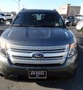 ford explorer 2014 gray suv xlt flex fuel 6 cylinders 2 wheel drive automatic with overdrive 60546
