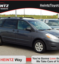 toyota sienna 2009 gray van le 7 passenger gasoline 6 cylinders front wheel drive automatic 56001
