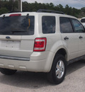 ford escape 2008 white suv xls gasoline 4 cylinders front wheel drive automatic 77375