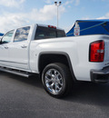 gmc sierra 1500 2014 white slt flex fuel 8 cylinders 2 wheel drive automatic 76234